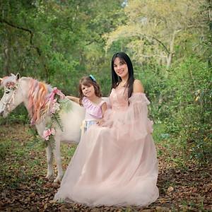 Karolyn's  Birthday with a Unicorn