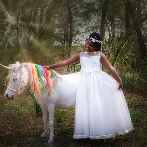 Blessin's Birthday with a Unicorn