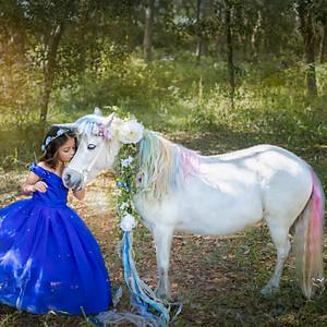Sofia's Magical Day with a Unicorn