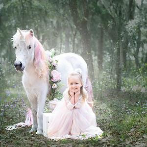 Jennifer's Unicorn Photoshoot