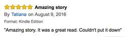Book Review Tatiana