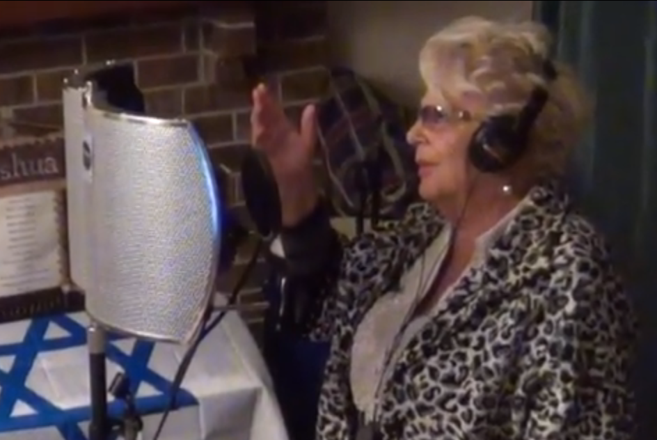 Oxana's Mom Singing to God