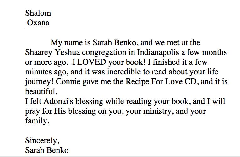 Book Review Sarah Bianco