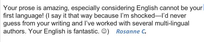 Book Review Rosanne C.