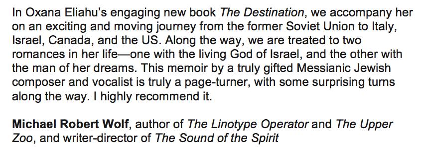 Book Review Rabbi Michael Wolf