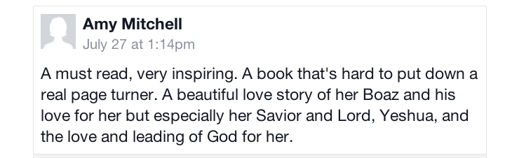 Review from Amy Mitchel
