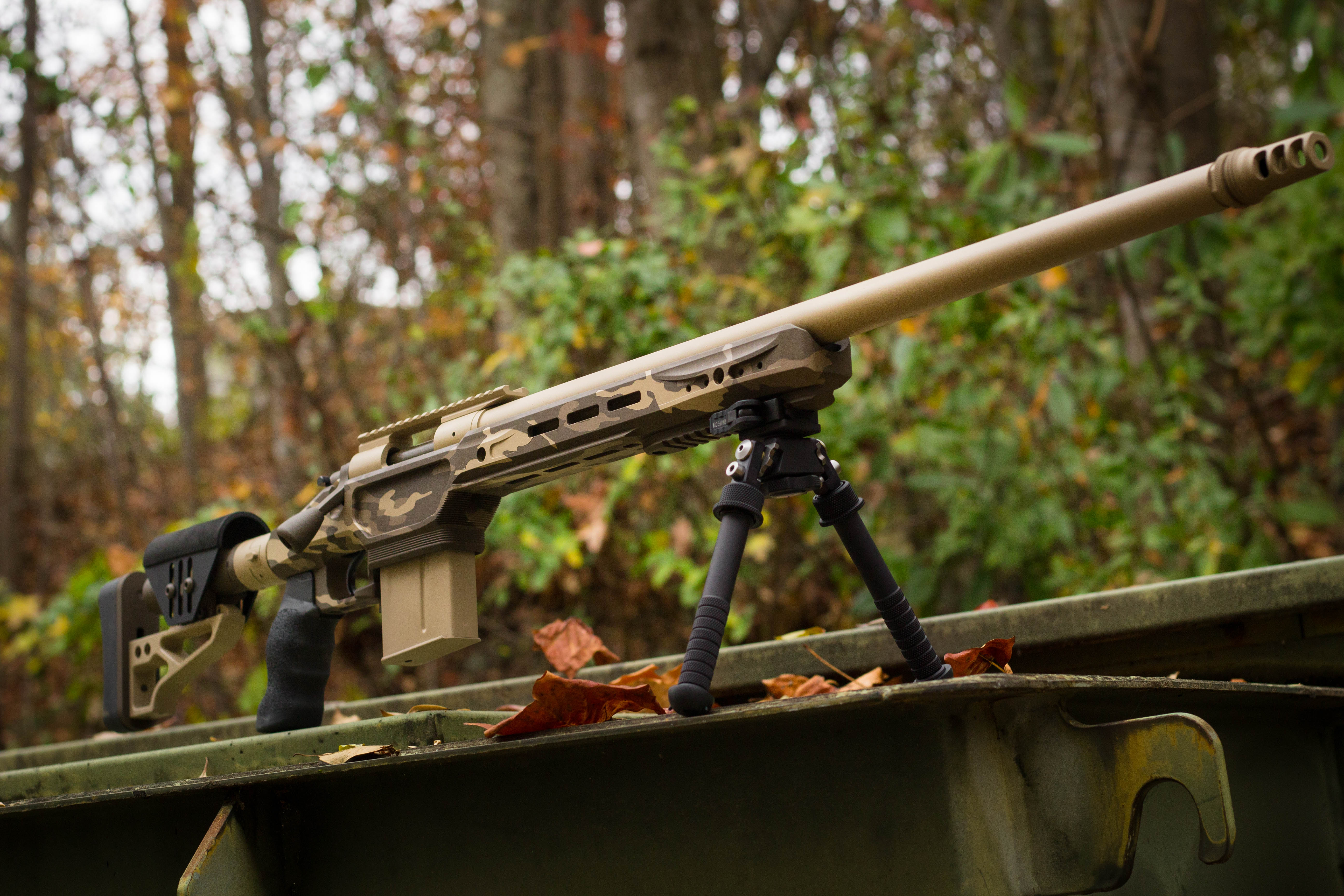 Camouflage Cerakote Rifle