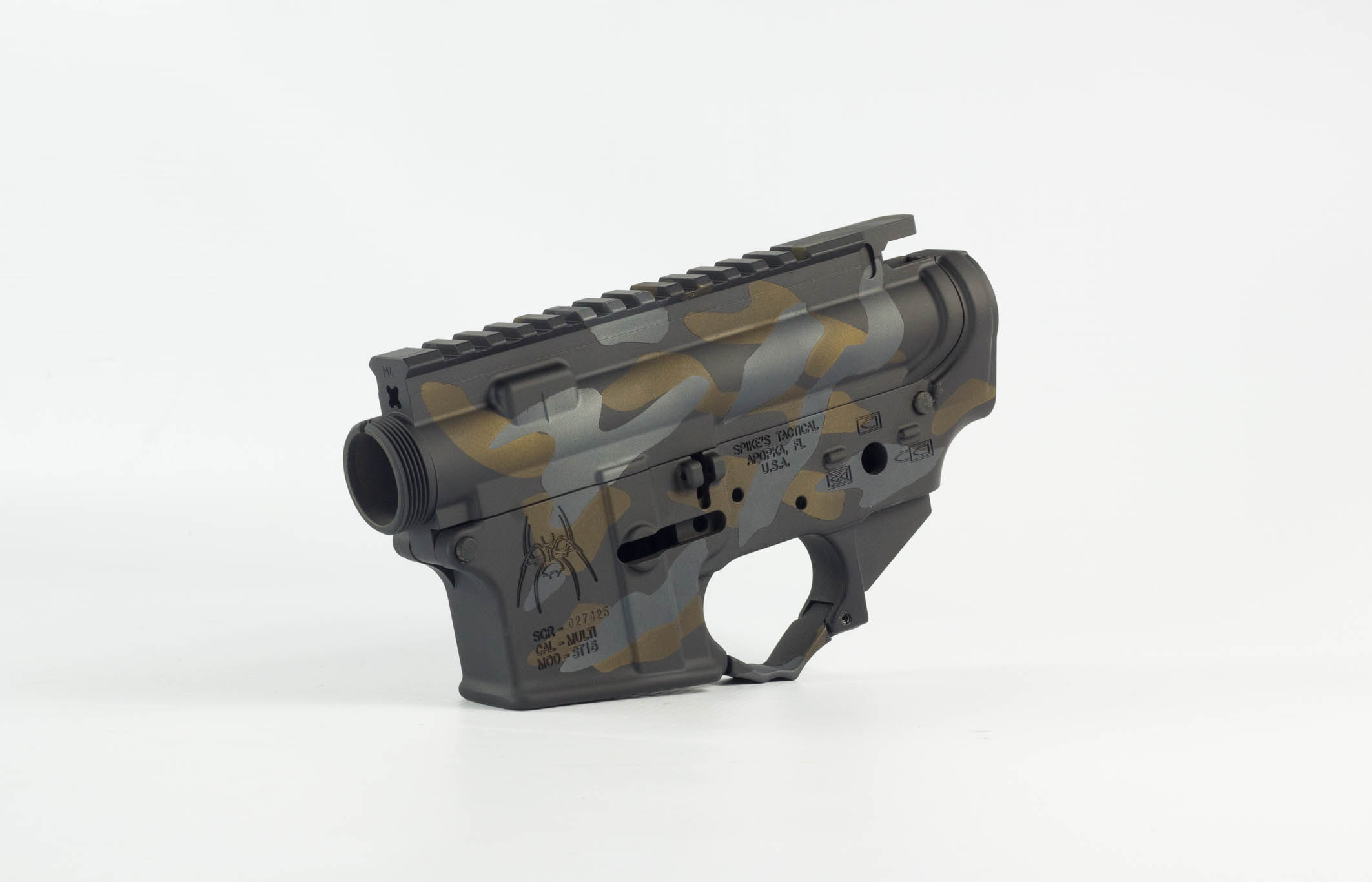 AR-15 Cerakote by GFL Gunsmithing