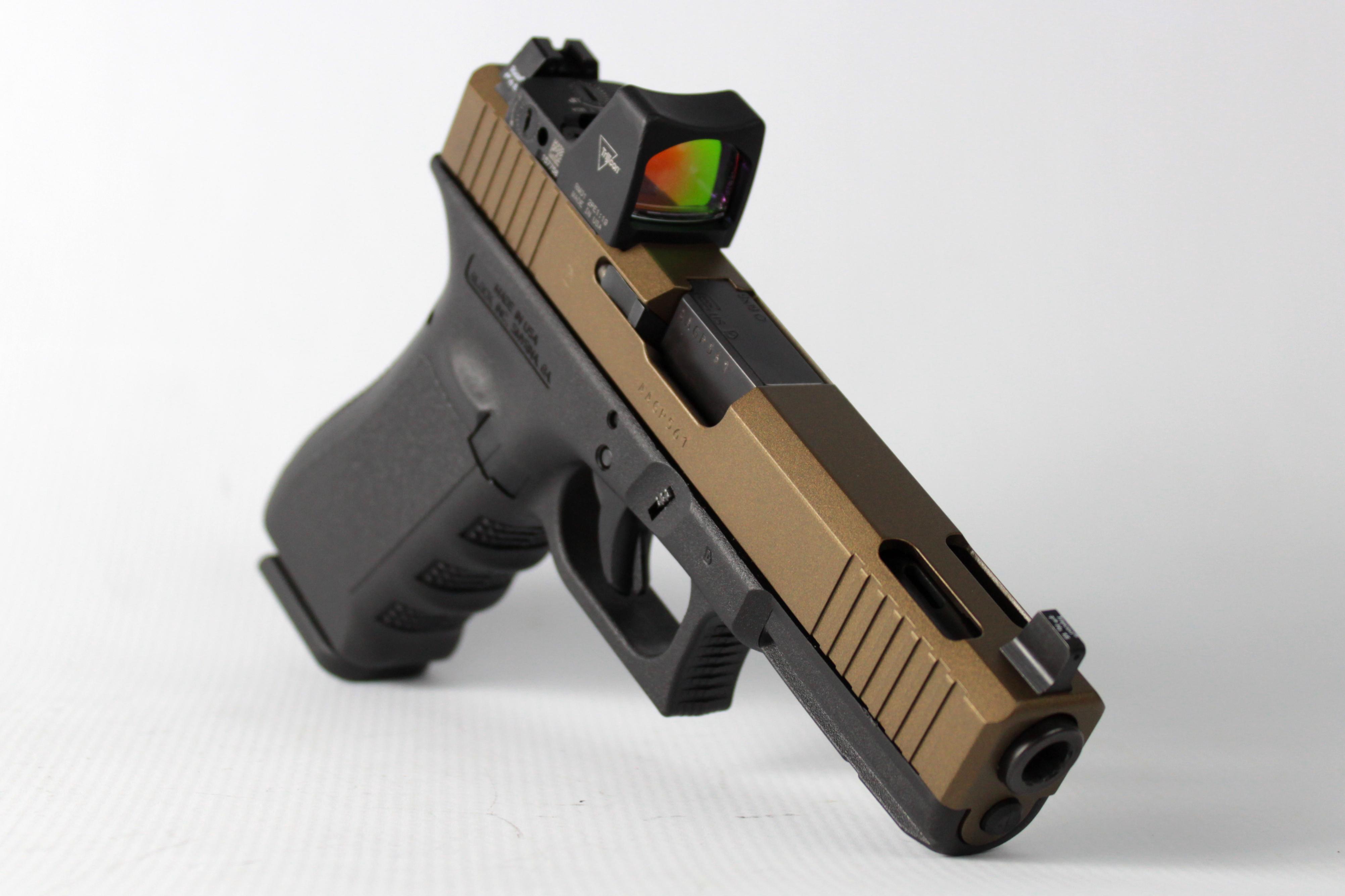 Cerakote Bronze Pistol