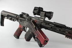 Distressed Cerakote Pistol and Rifle