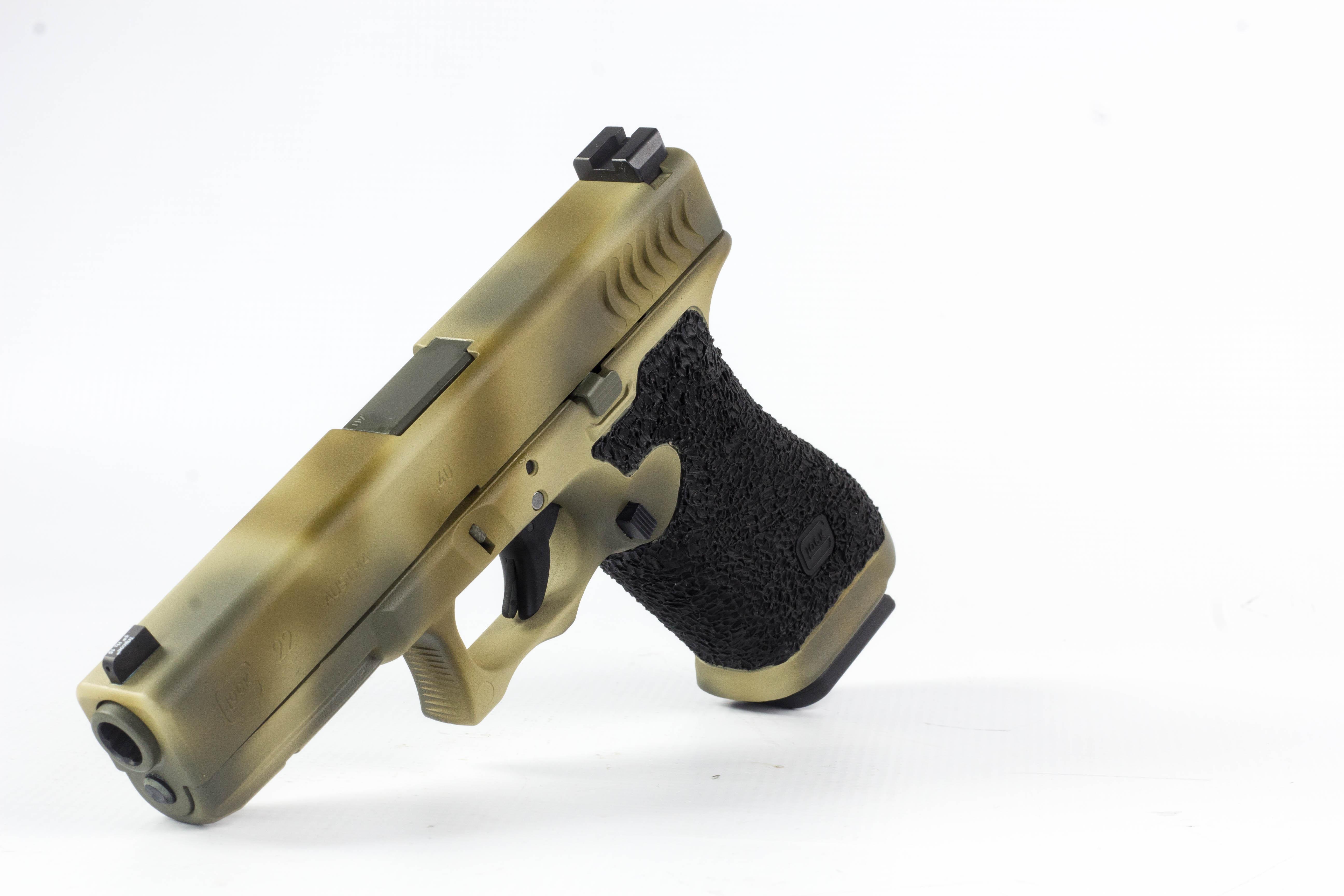 Camouflage Cerakote Pistol