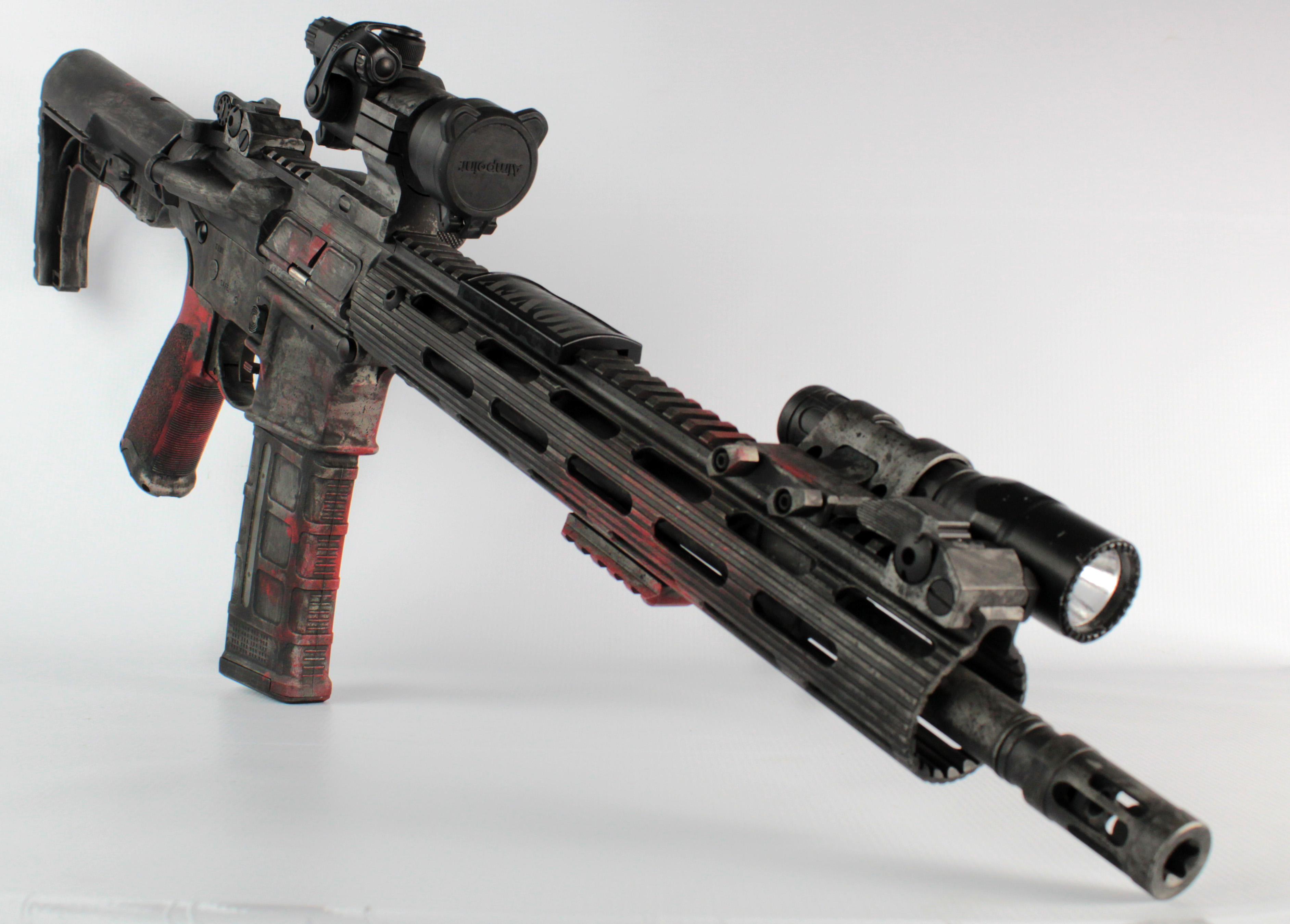 Distressed AR-15 By GFL Gunsmithing