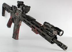 Distressed Cerakote Rifle