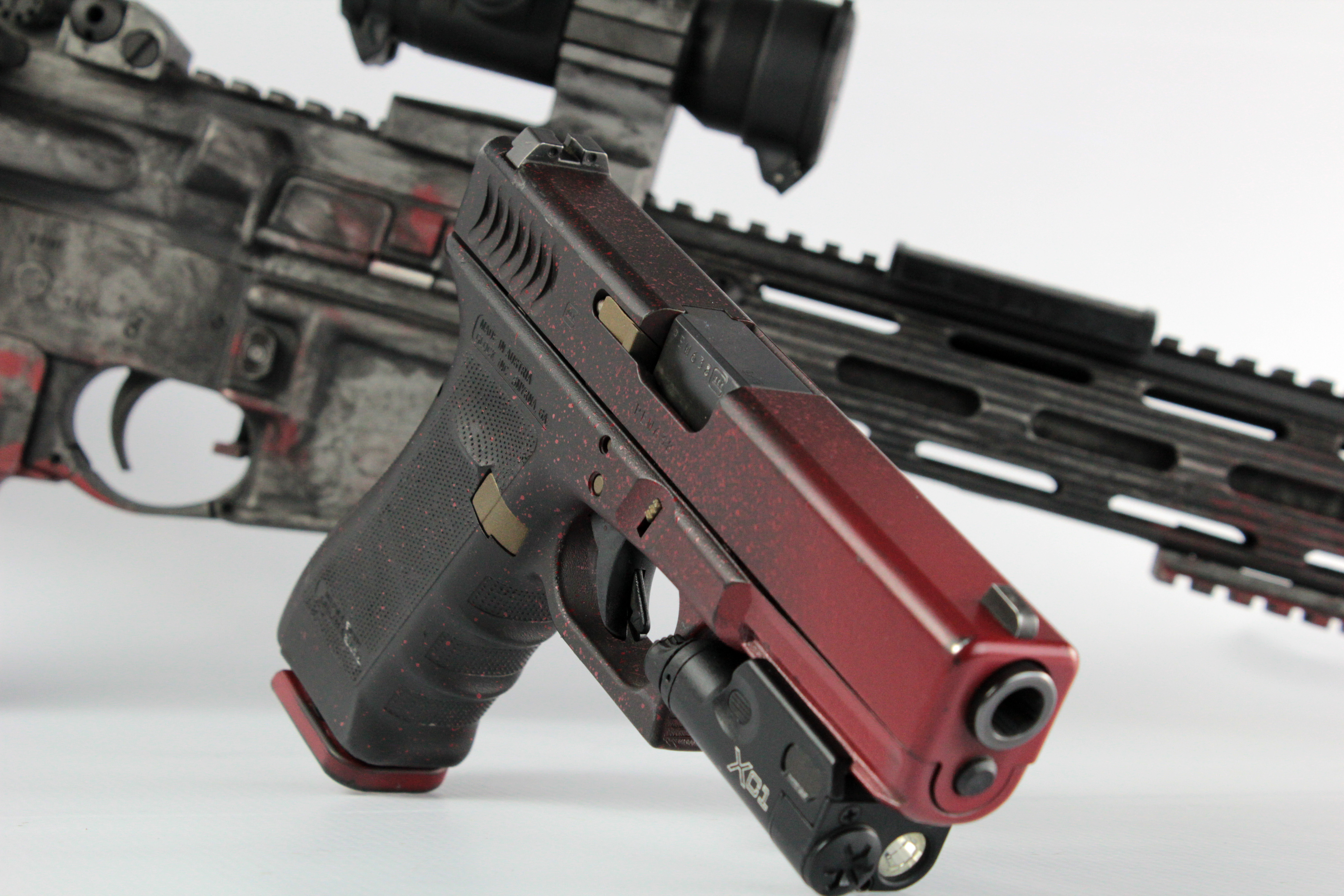 Distressed Cerakote Pistol