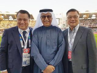 AFC president Sheikh Salman to visit Saipan