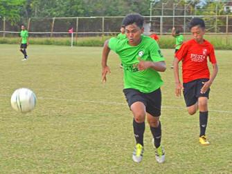 Easy wins for 2 teams in boys U15