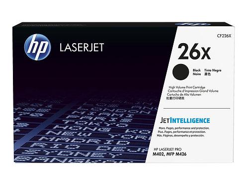 HP 26X - Lång livslängd - svart - original - LaserJet - tonerkassett (CF226X) -