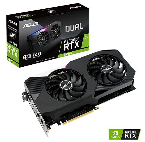 ASUS GeForce RTX 3060 TI 8GB GDDR6 DUAL
