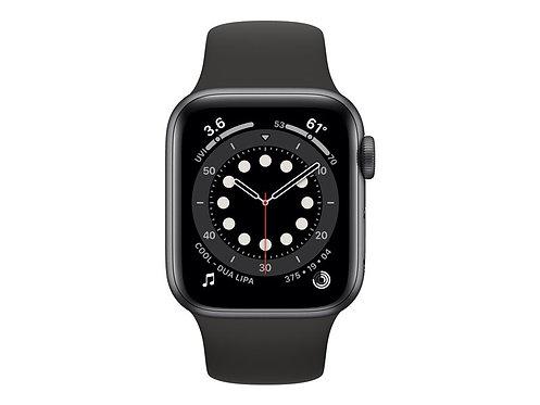 Apple Watch Series 6 (GPS + Cellular) - rymdgrå aluminium