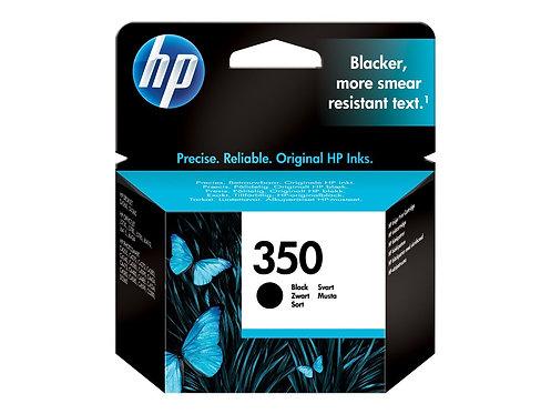 HP 350 - 4.5 ml - svart - original - bläckpatron - för Officejet J6415; Photosma