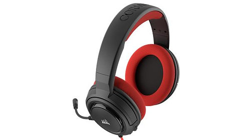 Corsair - HS35 Stereo Gaming Headset, Red