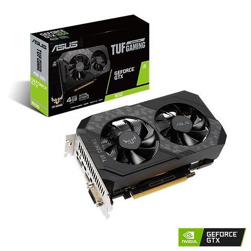 ASUS GeForce GTX 1650 4GB GDDR6 TUF GAMING with 6-pin Power Connector
