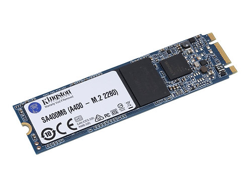 Kingston A400 - Solid state drive - 240 GB - inbyggd - M.2 2280 - SATA 6Gb/s