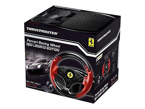 Thrustmaster Ferrari Red Legend Edition - Ratt- och pedaluppsättning -  PC/PS