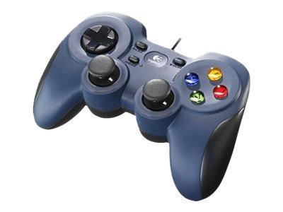 Logitech Gamepad F310 - Spelkontroll - 10 knappar - kabelansluten - för PC