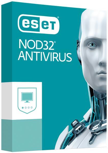 ESET NOD32 Antivirus 1 year, 1 unit