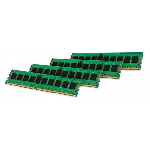 Kingston 32GB (8GB 2Rx8 1G x 72-Bit x 4 pcs.) PC4-2133 CL15 Registered w/Parity
