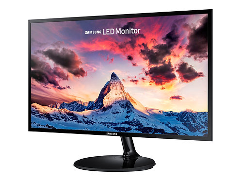 "Samsung S24F350FHU - SF350 Series - LED-skärm - 24"" - 1920 x 1080 Full HD (1080p"