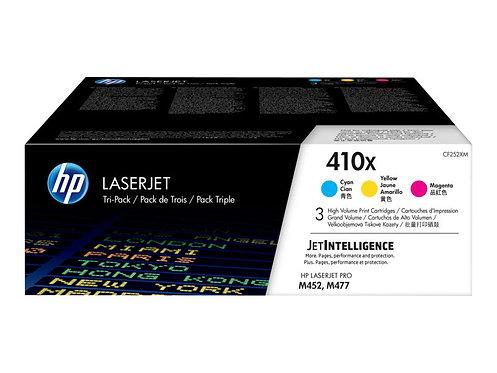 HP 410X - 3-pack - Lång livslängd - gul,cyan,magenta - original - LaserJet - to