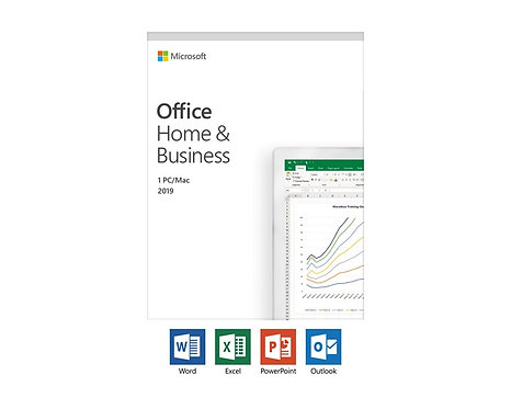 Microsoft® Office Home and Business 2019 Svensk 1 Licens