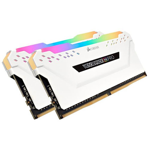 Corsair Vengeance PRO 16GB (2-KIT) DDR4 3200MHz CL16 White RGB