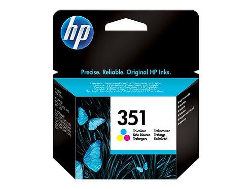 HP 351 - 3.5 ml - färg (cyan, magenta, gul) - original - bläckpatron - för Offic