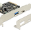 Thumbnail: DeLOCK PCI-Express x2 3.0 kort, 1xUSB Typ C 3.1 Gen 2, 1xUSB Type A 3.1 Gen 2, A