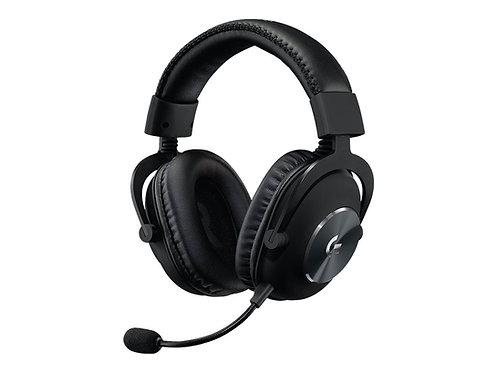 Logitech G Pro X - Headset - fullstorlek - 2,4 GHz - trådlös - ljudisolerande