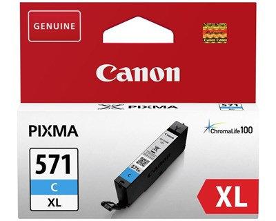 Canon CLI-571C XL - 11 ml - Lång livslängd - cyan - original - bläcktank - för P