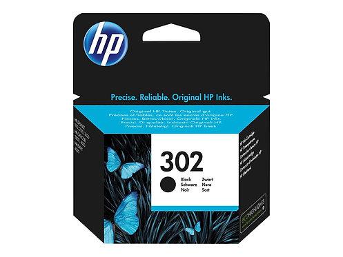 HP 302 - 3.5 ml - svart - original - bläckpatron - för Deskjet 11XX, 21XX, 36XX;