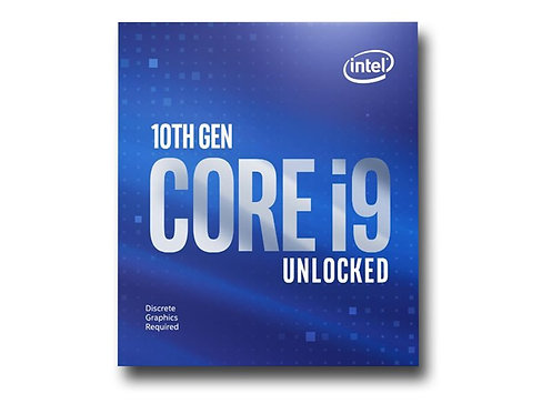 Intel Core i9 10900KF 3.7 GHz, 20MB, Socket 1200 (without CPU graphics) (no cool