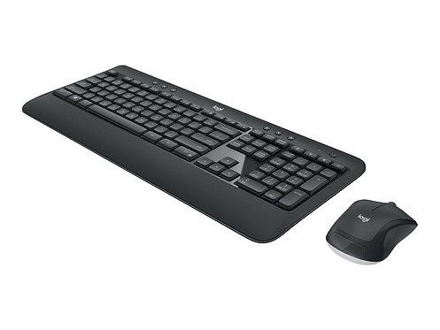 Logitech MK540 Advanced - Sats med tangentbord och mus - trådlös - 2.4 GHz - nor