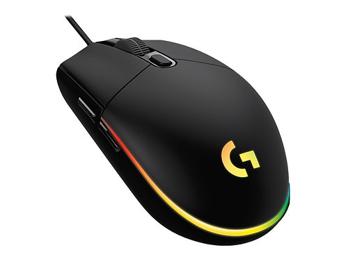 Logitech Gaming Mouse G102 LIGHTSYNC - Mus - högerhänt - optisk - 6 knappar - ka