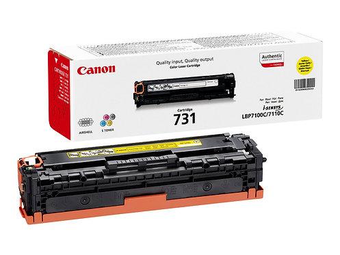 Canon 731 Y - Gul - original - tonerkassett - för i-SENSYS LBP7100Cn, LBP7110Cw,