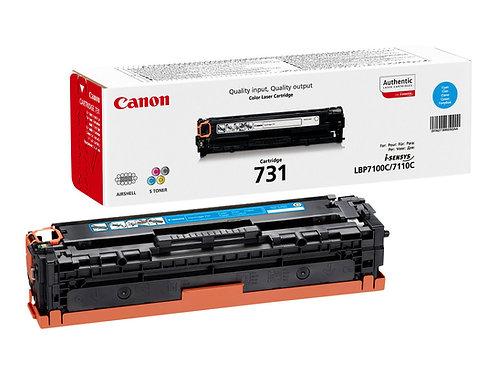 Canon 731 C - Cyan - original - tonerkassett - för i-SENSYS LBP7100Cn, LBP7110Cw