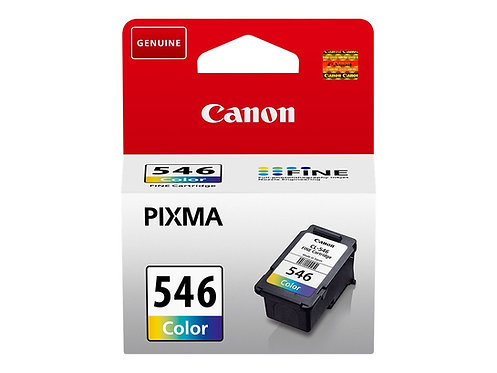 CANON CL-546 ink cartridge color standard capacity 8ml 180 pages 1-pack blister