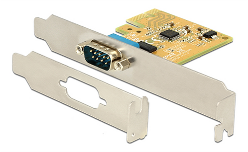 DeLOCK PCI-Express kontrollerkort, 1xRS-232 DB9 hane, SUN2212 Chipset