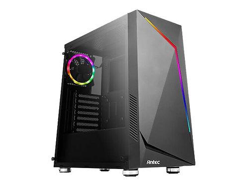 Antec NX300 - Tower - ATX - ingen strömförsörjning - svart - USB / Audio