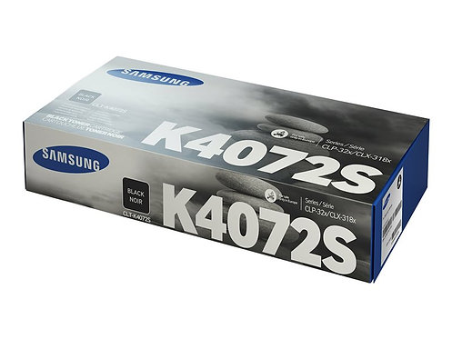 Samsung CLT-K4072S - svart - original - tonerkassett (SU128A)