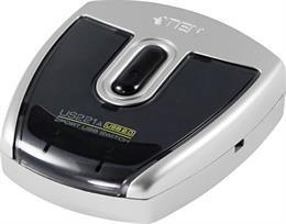ATEN manuell USB 2.0 switch, 2 datorer till 1 enhet